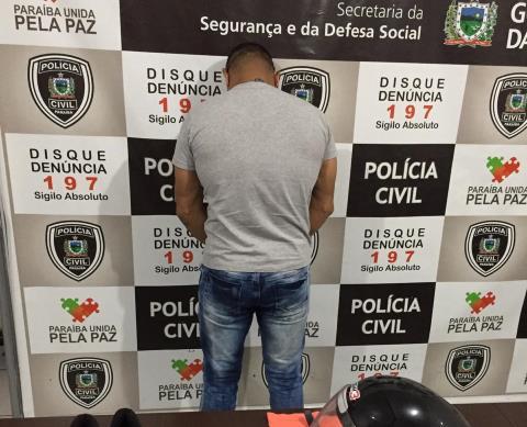 PC prende suspeito de ter matado Sadam no dia 06 de janeiro em Patos