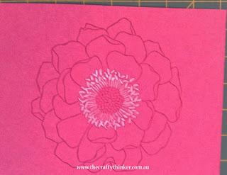 SU, Blended Bloom, Watercolouring, monochromatic watercolour, monochrome