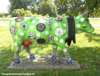 Pennsylvania & Beyond Travel Blog: Cow Parade - Public Art ...