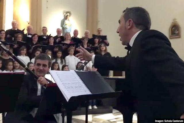 Reto del maniquí de la Schola Cantorum