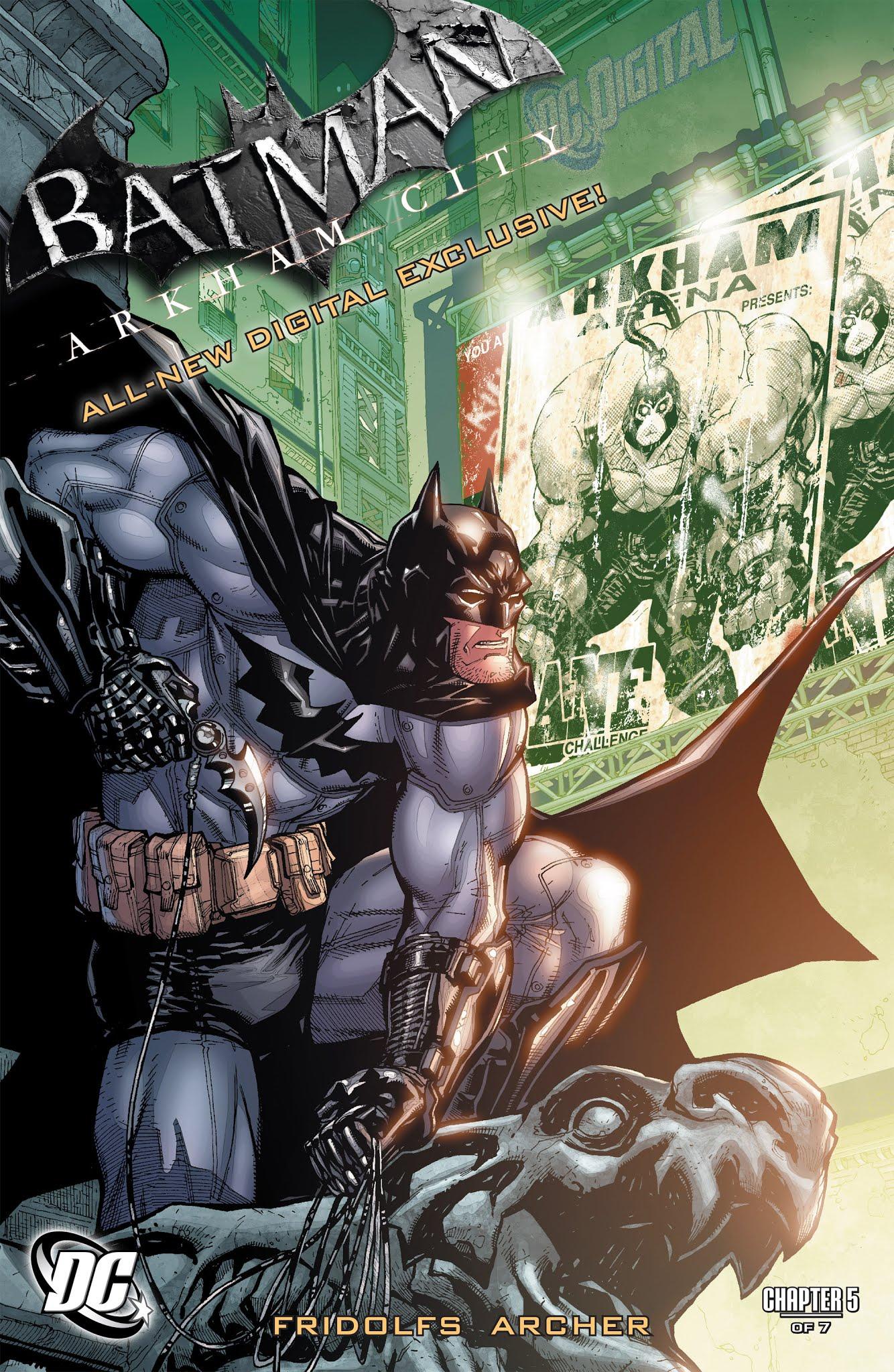 Batman: Arkham City (Digital Chapter) 5 Page 1