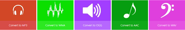 audio file converter online