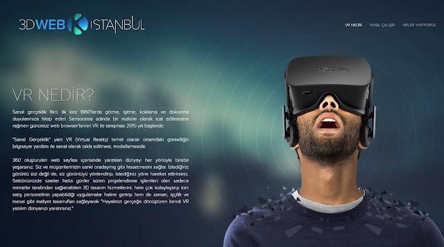 Sanal gerçeklik web tasarım firması