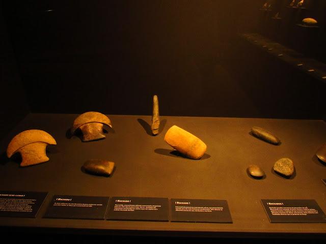 museu homem americano pedra talhada