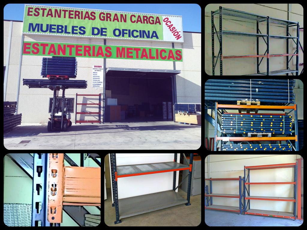 Estanterias Metalicas Oficina.Estanterias Metalicas Y Muebles De Oficina