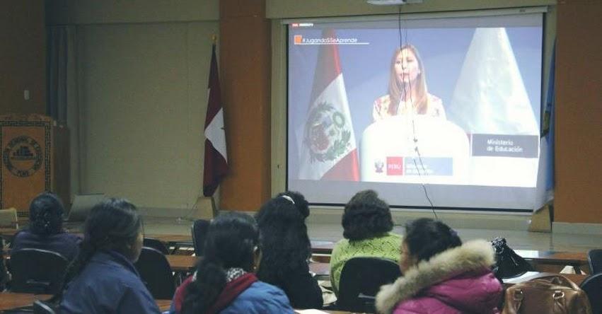 Docentes de la DRE Puno participan del 1° Congreso Internacional de Educación Inicial - www.drepuno.gob.pe