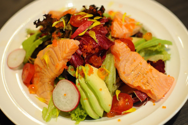 Barashi Tei Food Review Avocado Salmon Salad Lunarrive Singapore Lifestyle Blog