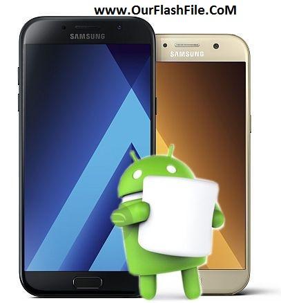 Samsung Galaxy A5 2017 SM-A520F Update Firmware (4File
