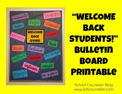 Quick and Easy Welcome Back Bulletin Board