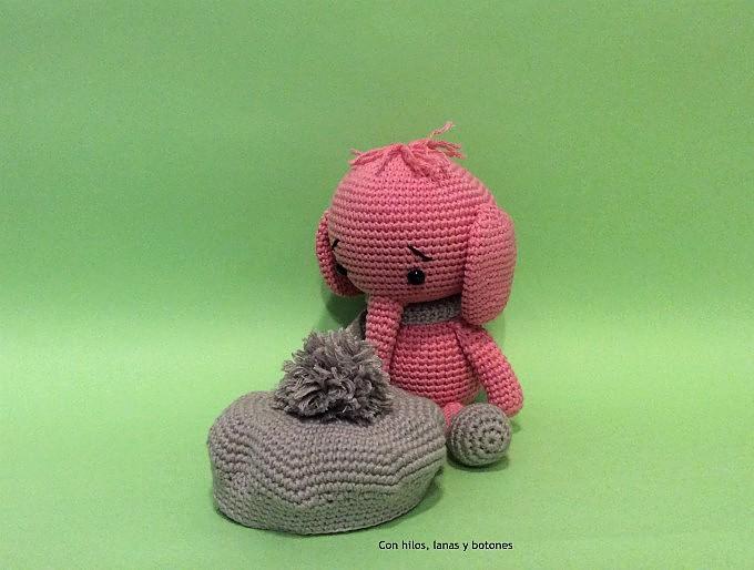 Con hilos, lanas y botones: Emily, the elephant amigurumi