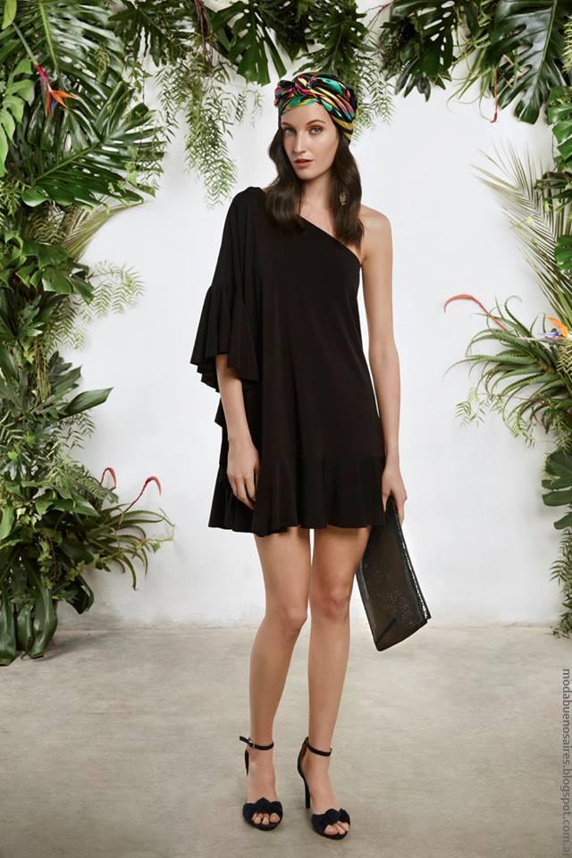 Moda mujer primavera verano 2017 María Cher vestidos.