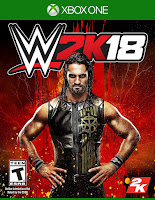 WWE 2K18 Game Cover Xbox One