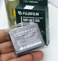 Baterai Fujifilm Seri NP-W126