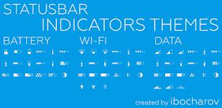 Flat Style Bar Indicators Status Bar