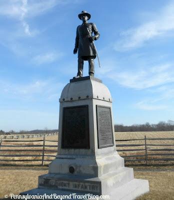 Gettysburg Battlefield - Vermont Infantry Monument