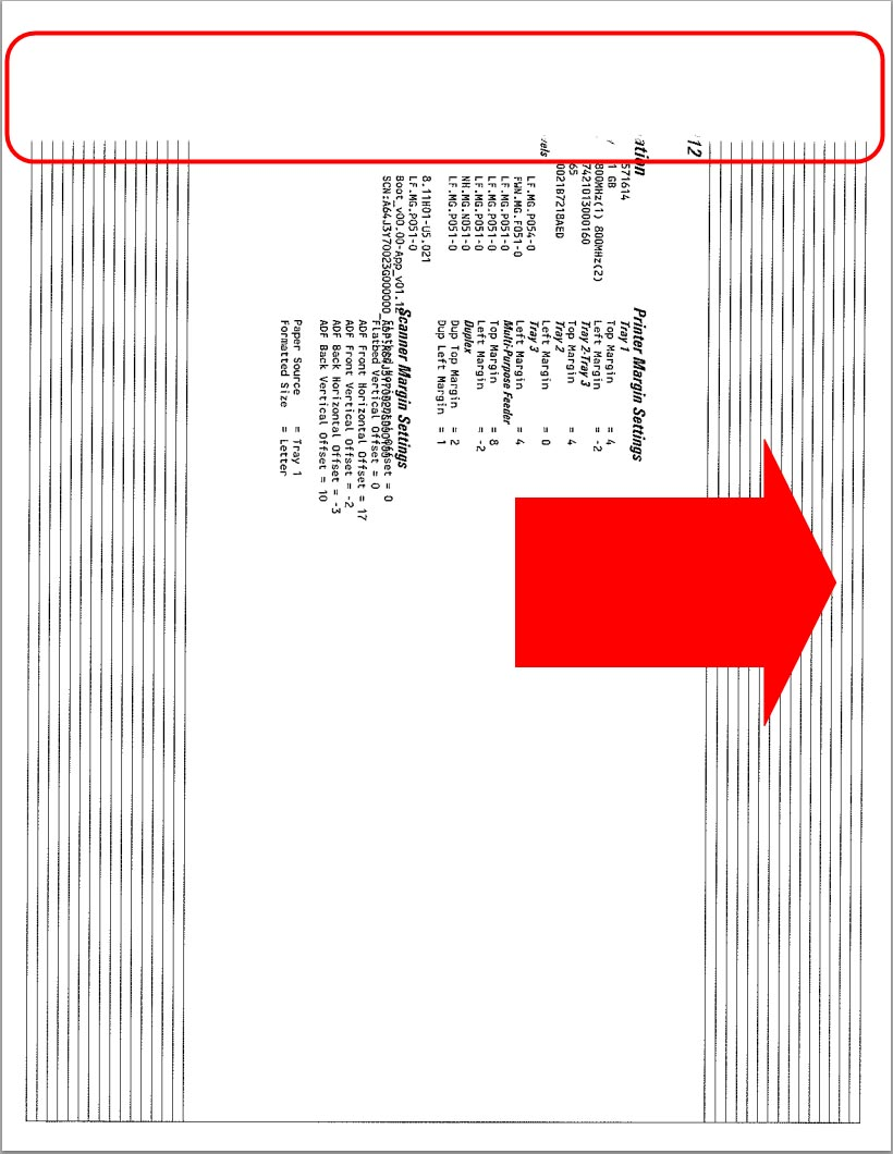 Toner-Spot: Unwanted Lines on Paper when Printing with Ricoh