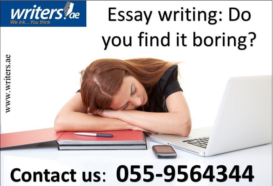 essay writing is boring