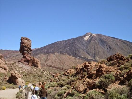 The Mount Teide, Tenerife