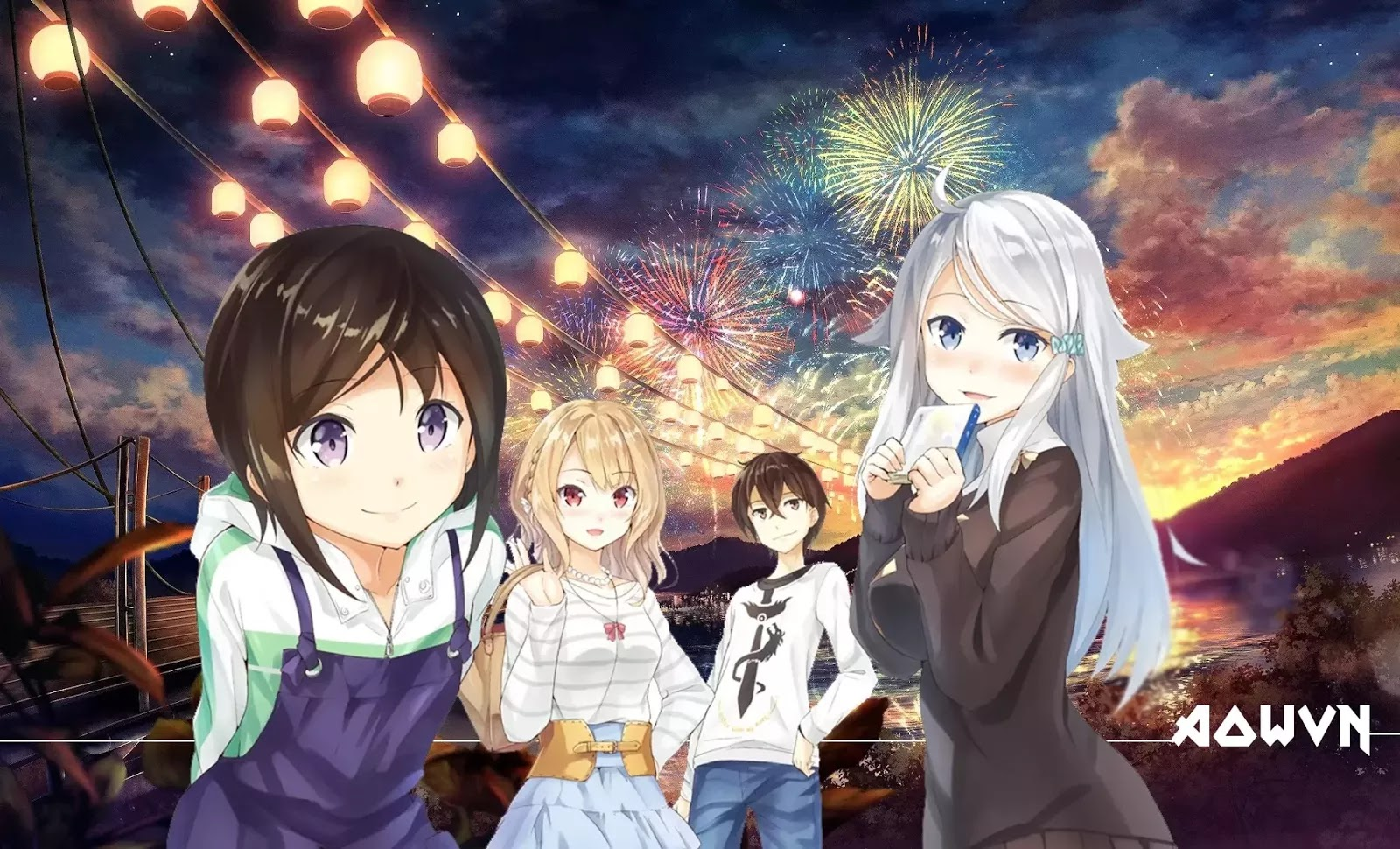 AowVN m%2B%25281%2529 - [ Anime 3gp Mp4 ] Imouto sae Ireba Ii | Vietsub - Hài Hước