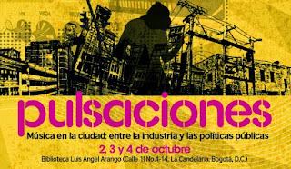 """""""Pulsaciones"""", un foro sobre música en la ciudad"""