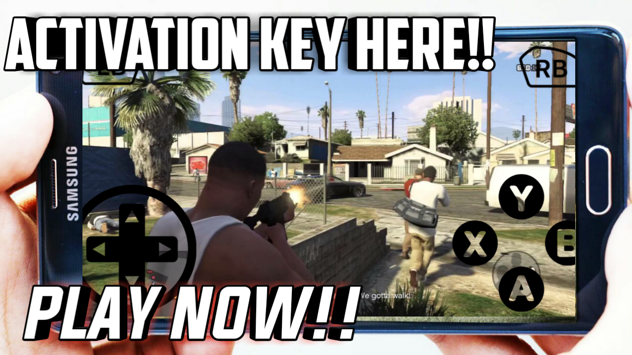 gta 5 activation key for android