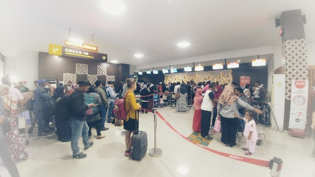 Tempat Check In Terminal B Bandara Adi Sutjipto Yogyakarta