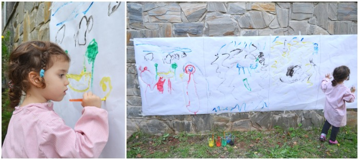 Expresar emociones a partir de música, pintura y cuentos. Educación emocional. Pintando la alegría