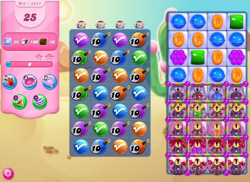 Candy Crush Saga level 4271