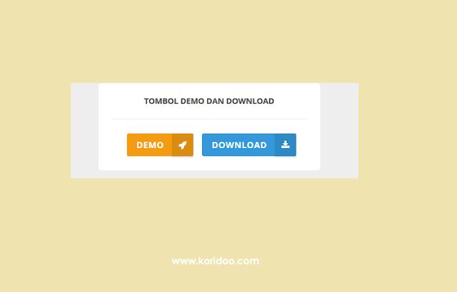 Membuat Tombol Demo dan Download Dengan Efek Flat UI