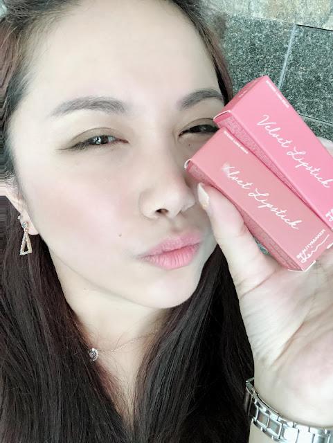BeautyMaker 迷霧光絲柔唇膏 滋潤不乾燥的霧面唇膏試色