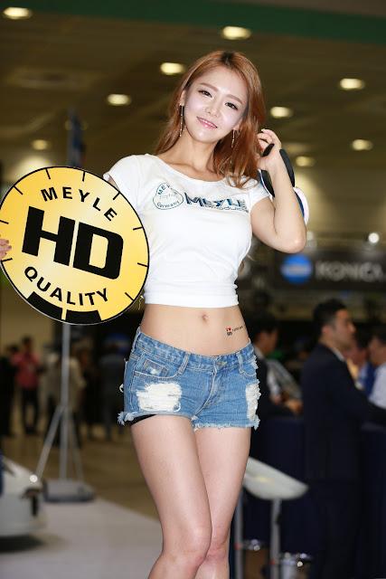 2 Yu Jin - Seoul Auto Salon - very cute asian girl-girlcute4u.blogspot.com