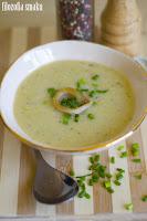 (Zupa fasolowo-porowa