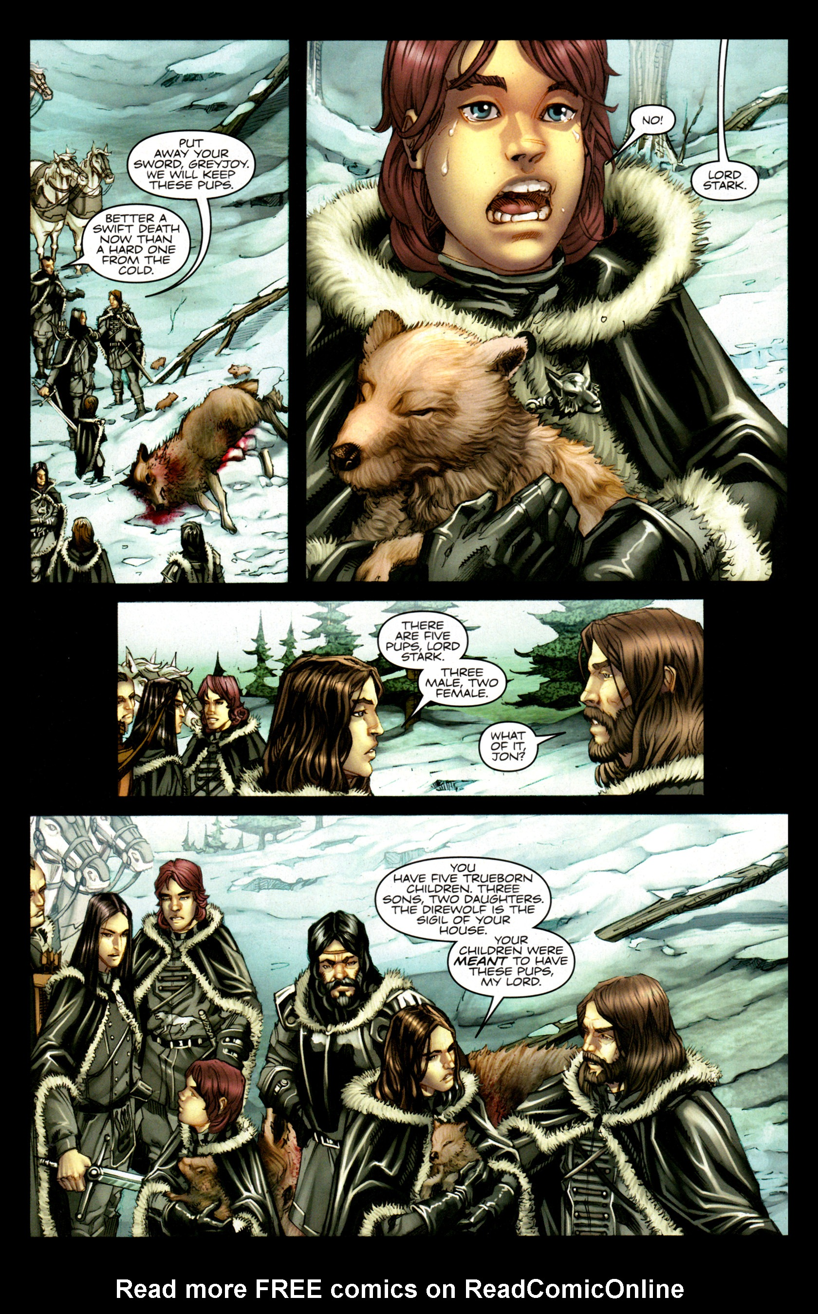 Read online A Game Of Thrones comic -  Issue #1 - 16