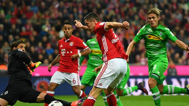 [Video] Cuplikan Gol Bayern Munich 2 - 0 Borussia Moenchengladbach (Liga Jerman)
