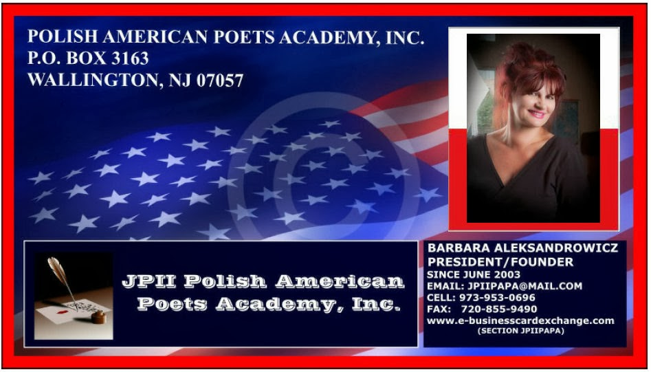 Bumerang Polski Jpii Polish American Poets Academy Konkurs