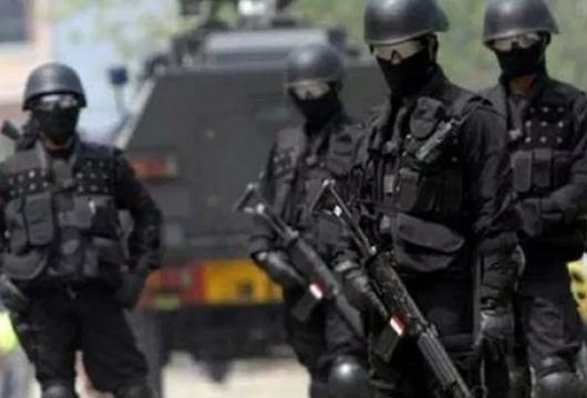 Densus 88 Tangkap 5 Terduga Teroris di Sumbar, 1 Orang Dicokok di Kuranji