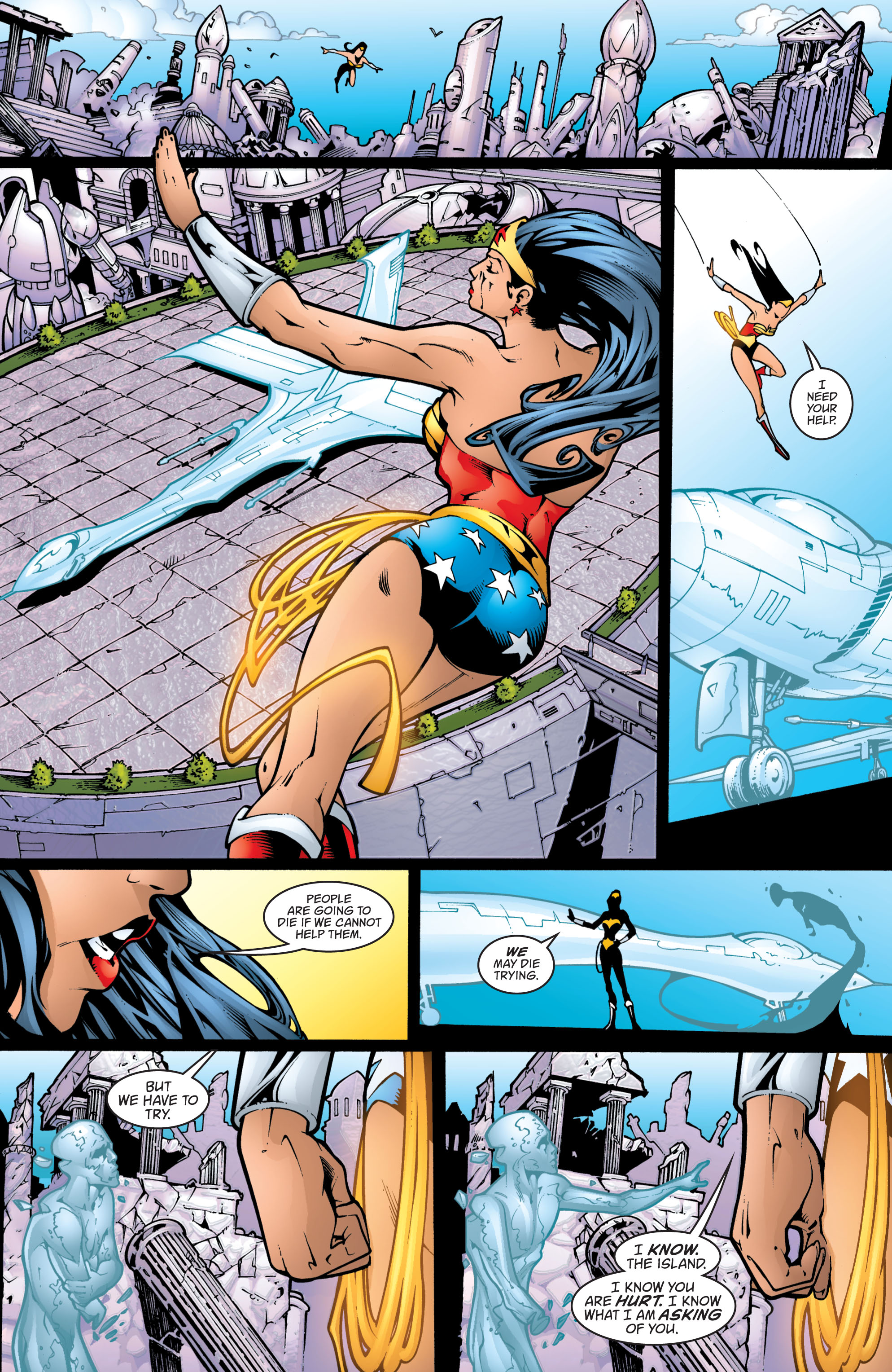 Read online Wonder Woman (1987) comic -  Issue #201 - 12