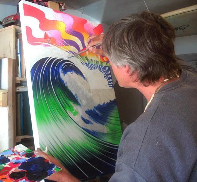 ArtByLangston: East Coast Surfing Championship Poster Art