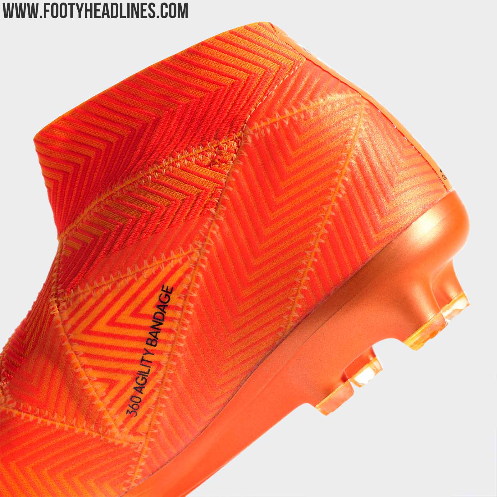 49bc765f42fca3 The next-gen Adidas Nemeziz 18+ football boots were released today. They  are part of the Adidas 'Energy Mode' 2018 World Cup boots collection.