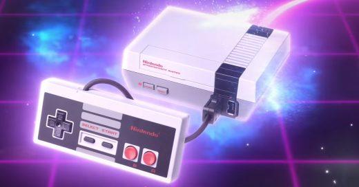 Presentan el NES clásico versión Mini y es la locura