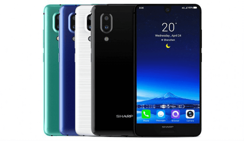 Sharp Aquos S2 With Bezel-less Screen Is Now Official