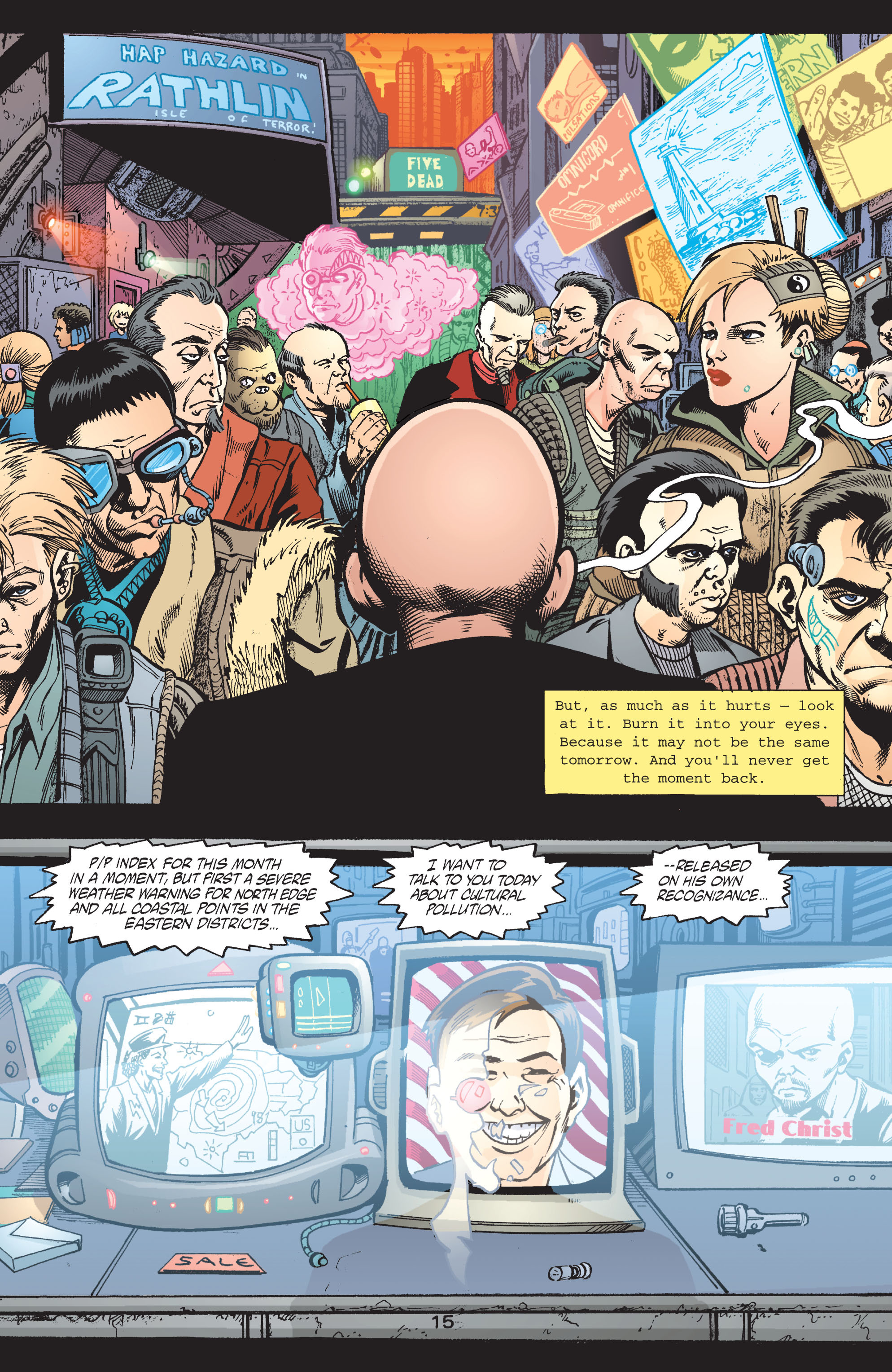 Read online Transmetropolitan comic -  Issue #42 - 16