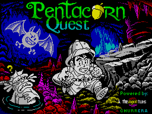 Pentacorn Quest (ZX-Spectrum)