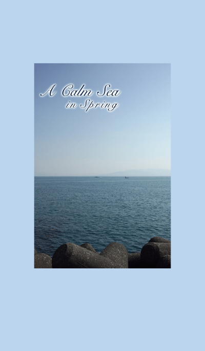 A Calm Sea in Spring