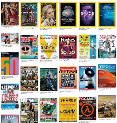 Down free magazines