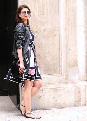 Valencia, streetstyle, tressore, wiosenna sukienka, letnia sukienka, novamoda style, novamoda stylizacje, Novamoda streetstyle,  summer streetstyle