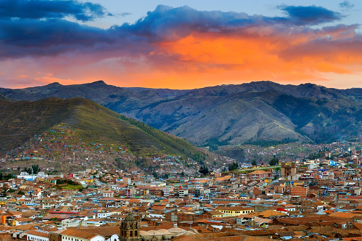 Cusco no Peru