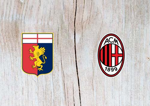 Genoa vs AC Milan Full Match &  Highlights 21 January 2019