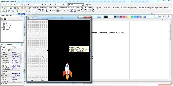 Animasi sederhana dengan pemrograman delphi