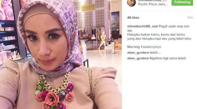 Shinta Bachir Putuskan Lepas Jilbab Dan Unggah Di Media, Mengapa?
